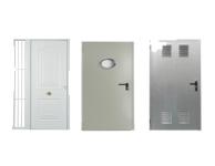 Puertas cortafuegos auxiliares y de entrada a vivienda